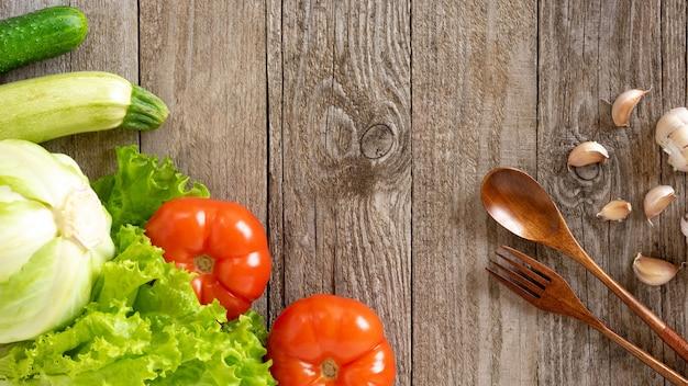 Legumes para fazer comida deliciosa.