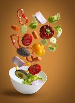 Legumes salada fresca