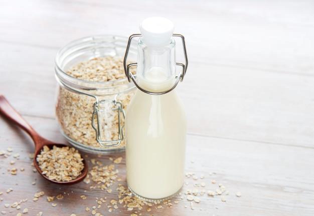 Leite alternativo vegan não lácteo