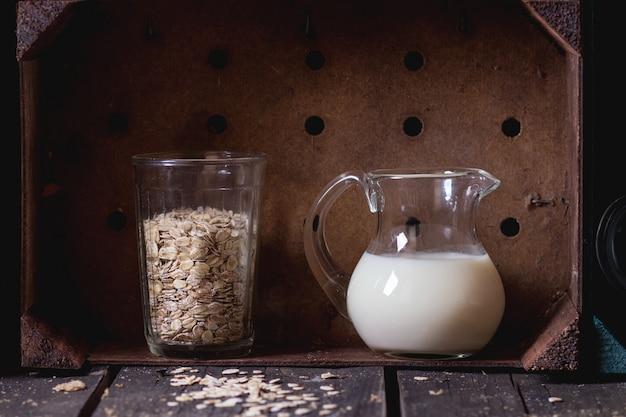 Leite de aveia não lácteo