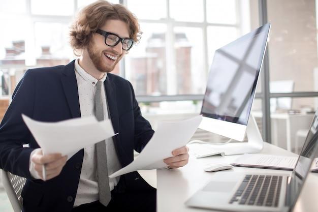 Lendo documentos financeiros