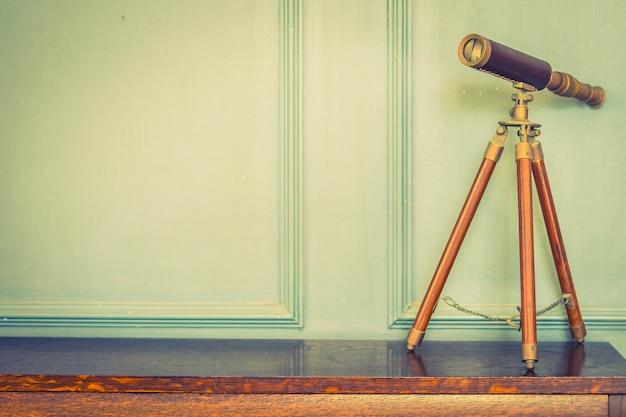 Lente binocular do vintage