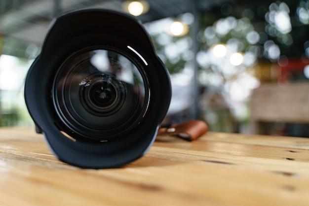 Lente da câmera moderna