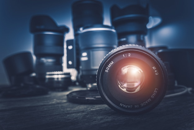 Lentes da câmera