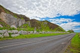 Leste país antrim road hdr ciano