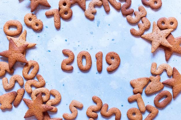 Letras de 2019 biscoitos de gengibre de natal feliz