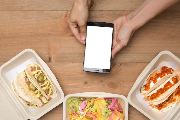 Leve comida mexicana