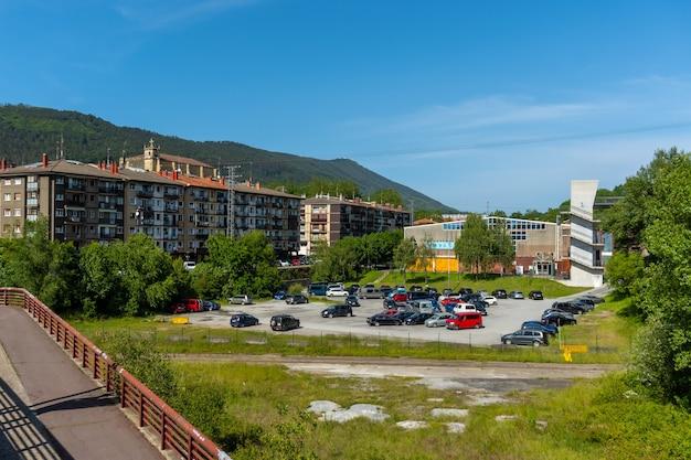 Lezo, a pequena cidade costeira na província de gipuzkoa, país basco