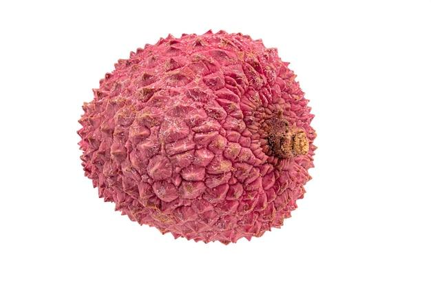 Lichia rosa fresca isolada