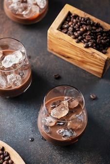 Licor cremoso com café
