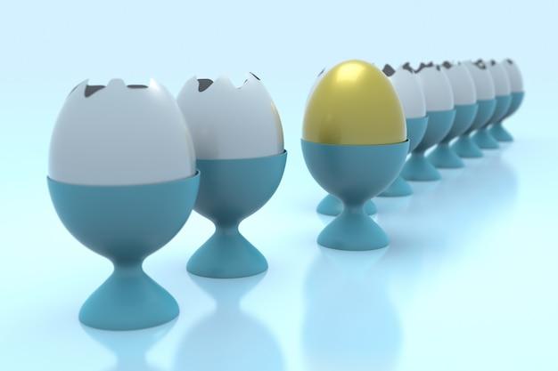Líder melhor conceito único diferente e individual