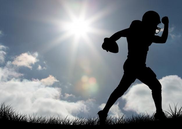 Líder sportswear cortar sol irritado