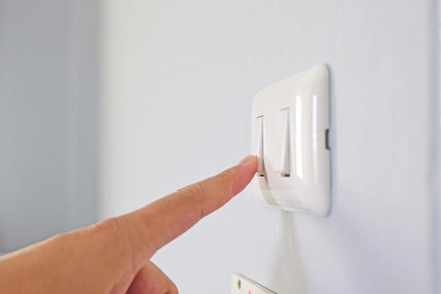 Ligar o interruptor