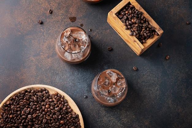 Ligueur cremoso com café