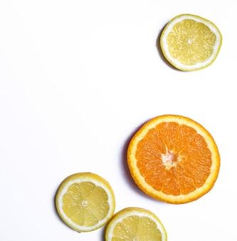 Limão e laranja