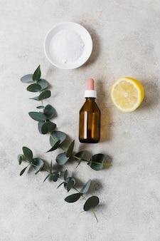 Limão e óleo para uma mente saudável e relaxada