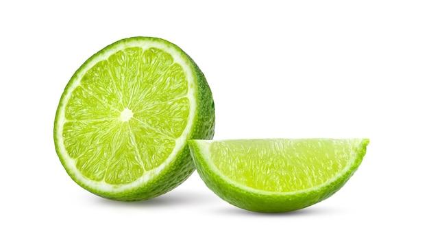 Limão isolado em fundo branco