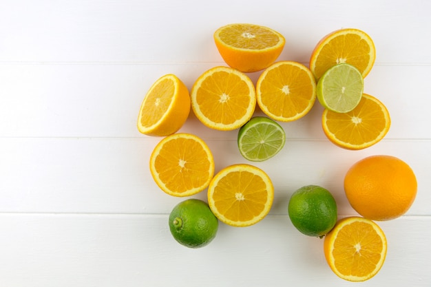 Limões amarelos