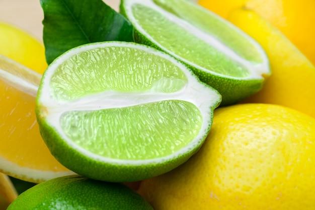 Limões e limas