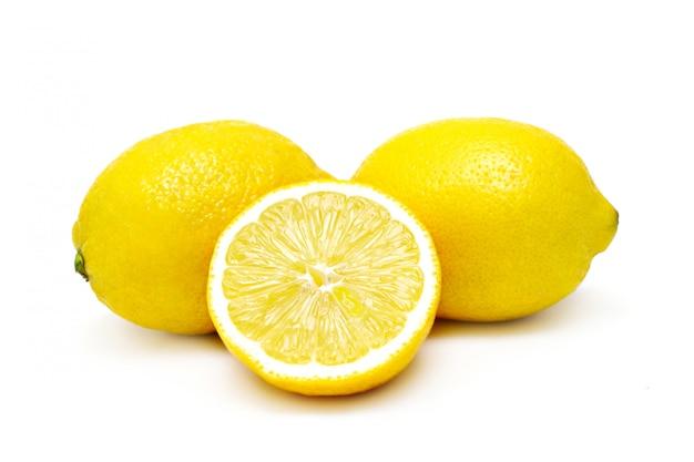 Limões isolados
