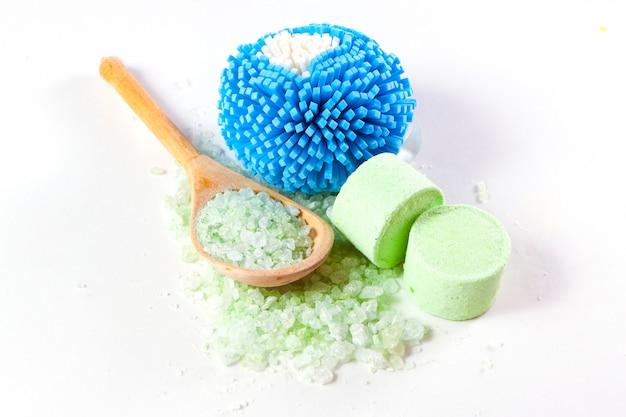 Limpadores e sal