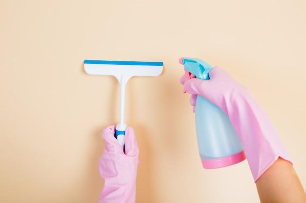 Limpando produtos