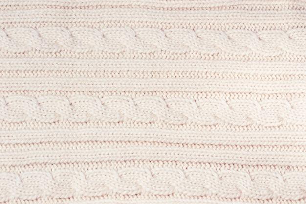Limpe a malha fresca de lã como pano de fundo