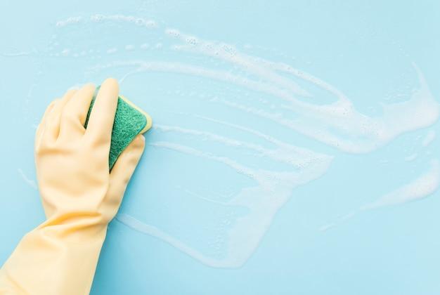 Limpeza das mãos