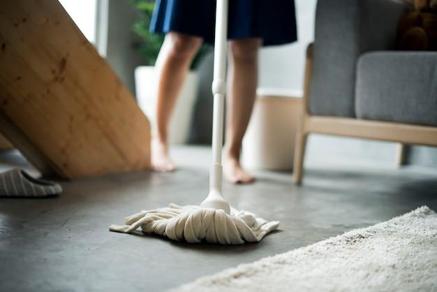 Limpeza de mãe japonesa