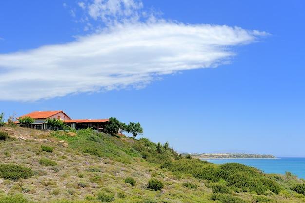 Linda casa da ilha de rodos