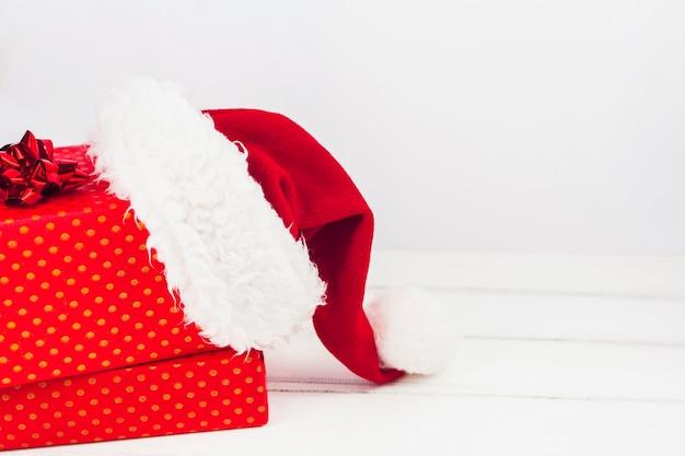 Linda composição de presentes de natal