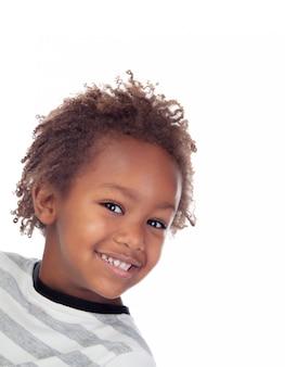 Linda criança afro-americana