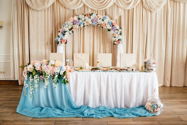Linda decoração de casamento