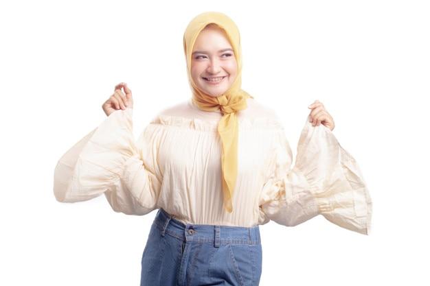 Linda garota hijab