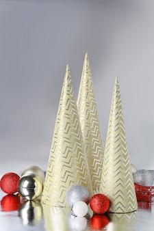 Lindas decorações de natal em prata