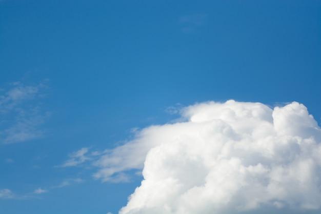 Lindas nuvens no céu
