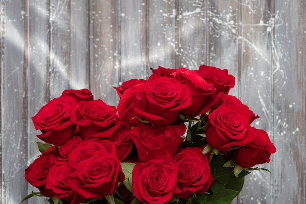 Lindas rosas vermelhas. dia dos namorados - amor.