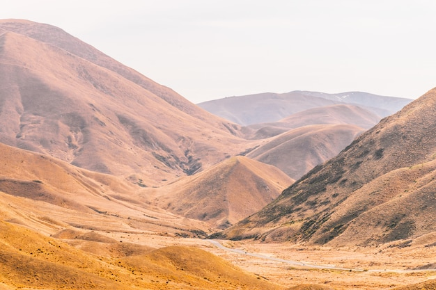 Lindis pass, nova zelândia