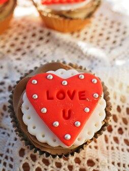 Lindo bolo do copo no dia dos namorados