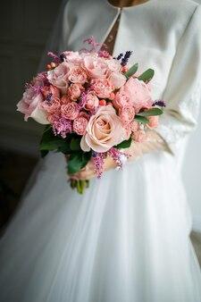 Lindo buquê de casamento para a noiva