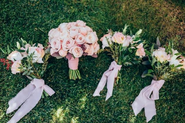 Lindo buquê de casamento