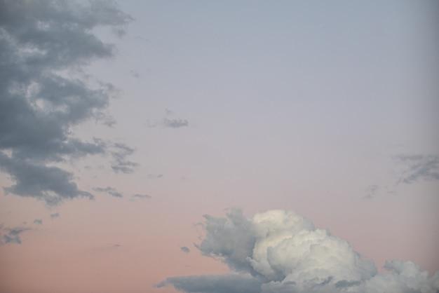 Lindo céu com nuvens