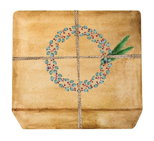 Lindo desenho de caixas com presentes