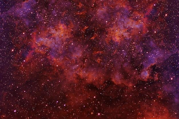 Lindo espaço colorido com estrelas os elementos desta imagem foram fornecidos pela nasa foto de alta qualidade