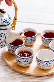 Lindo jogo de chá chinês