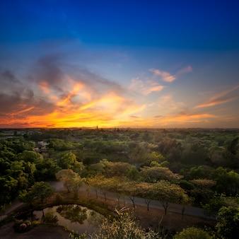 Lindo pôr do sol