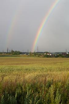 Lindos arco-íris reais