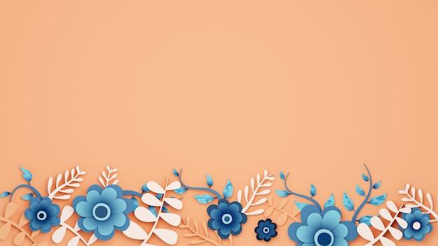 Lindos arranjos de flores com espaço para cópia