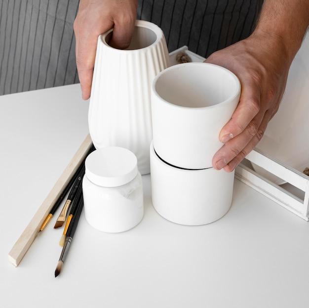 Lindos objetos feitos à mão