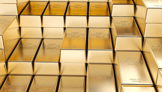 Lingote dourado